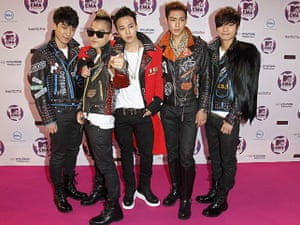 MTV Europe music awards: Big Bang