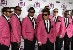 MTV Europe music awards: Bruno Mars