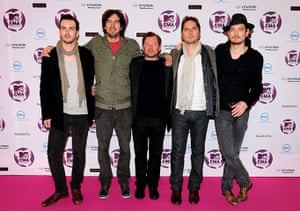 MTV awards: Snow Patrol