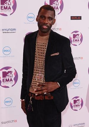 MTV Europe music awards: Wretch 32