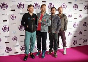 MTV awards: Coldplay