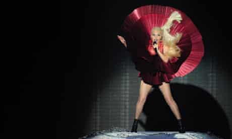 Lady Gaga at MTV Europe awards
