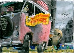Martin Rowson cartoon, 06.11.2011