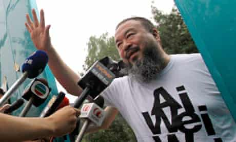 Ai Weiwei has been sent millions of yuan by his supporters