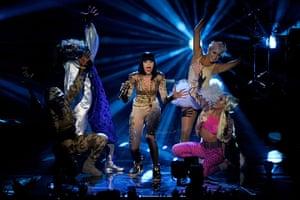 MTV awards: Jessie J performs
