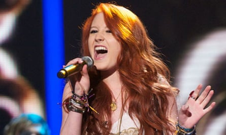 Janet Devlin performs on The X Factor
