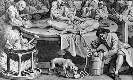 The Reward of Cruelty by William Hogarth