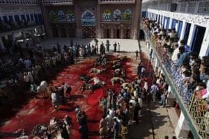 Eid al-Adha: Lahore madrassa