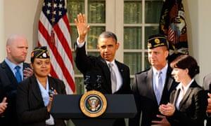 Barack Obama veterans
