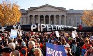 Keystone pipeline protest