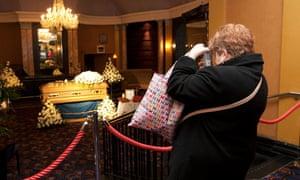 Jimmy Savile coffin