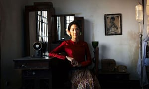 Michelle Yeoh as Aung San Suu Kyi in The Lady