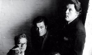 Christopher Booker, Richard Ingrams and Willie Rushton in 1962