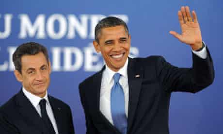 Sarkozy and Obama