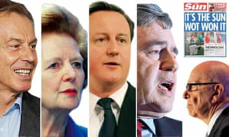 Politicians and the press composite