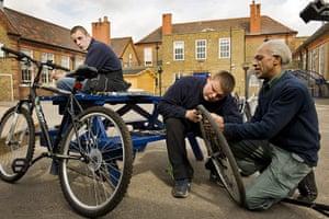 Bridge Academy: bike fixing