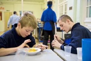 Bridge Academy: lunch