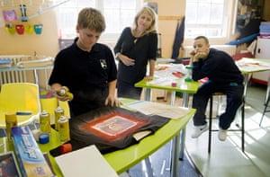 Bridge Academy: Art class