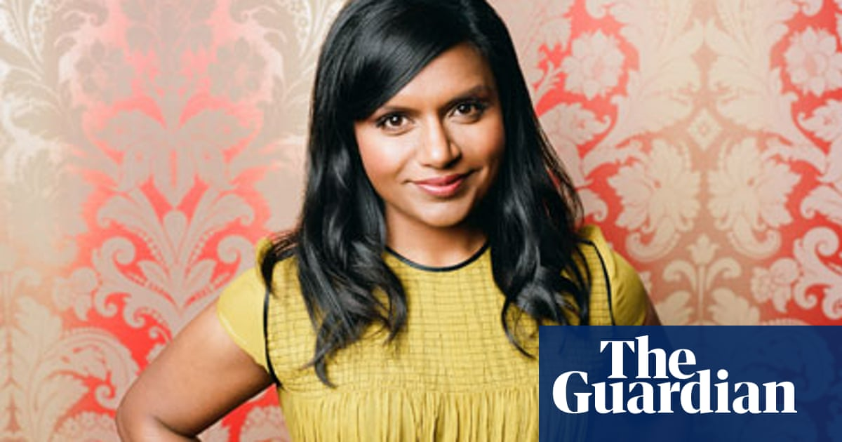 Mindy Kaling People Think That Because I Like Girly Things I M Dumb Television Radio The Guardian