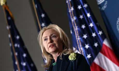 Hillary Clinton speaks on Aids