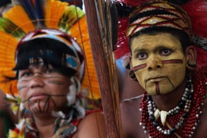 XI indigenous games : XI indigenous games in Brazil