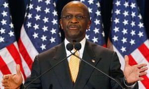 Herman Cain republican nomination
