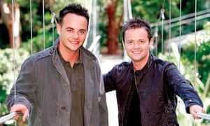 Ant and Dec presenting I'm A Celebrity … Get Me Out of Here!