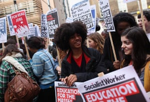 Student protests: Students Protest Over The Rise In Tuition Fees