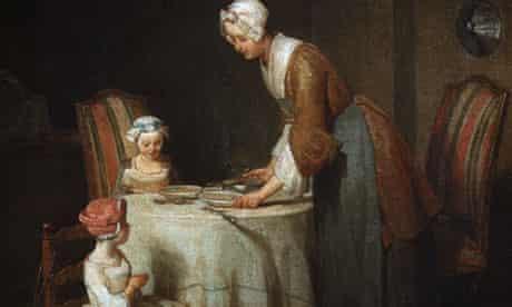 Grace at Table by Jean-Baptiste-Simeon Chardin