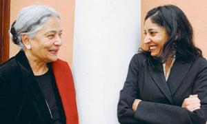 Anita Desai and her daughter, Kiran Desai
