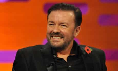 Ricky Gervais on the Graham Norton Show