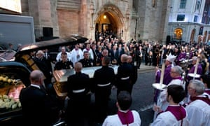 Jimmy Savile requiem mass