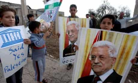 Palestinians Mahmoud Abbas