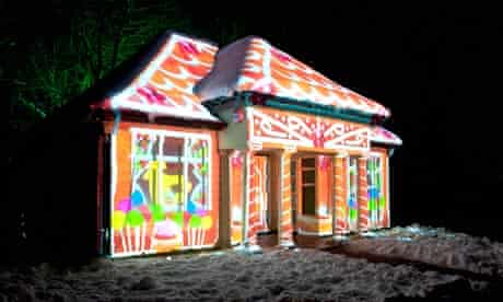 The Gingerbread House, part of Gateshead's Enchanted Parks
