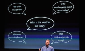 Apple's Phil Schiller introduces Siri
