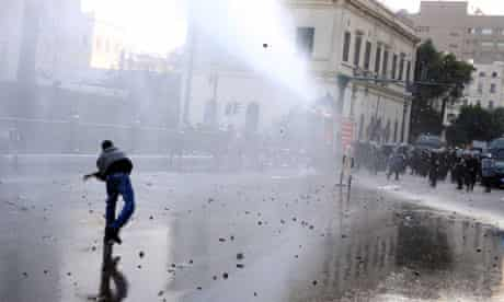 Anti-government protests in Cairo, Egypt - 26 Jan 2011