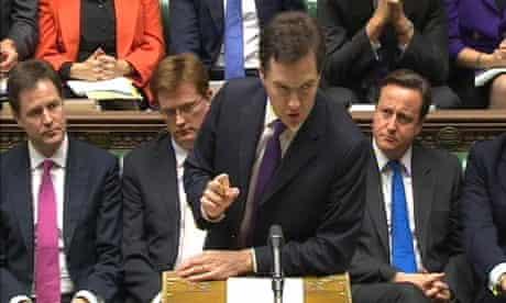 George Osborne delivers his autumn statement