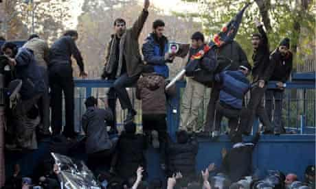 Iranian opposition student groups condemn storming of British embassy
