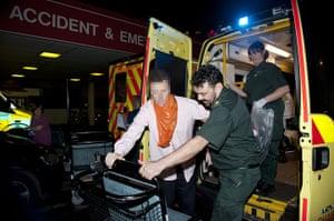 The Booze Bus: St Thomas's Hospital