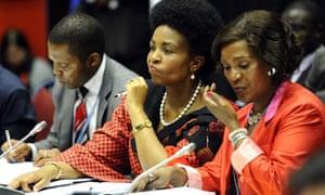 Maite Nkoana-Mashabane at COP17