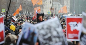 Moscow protests: A general view of the protesters