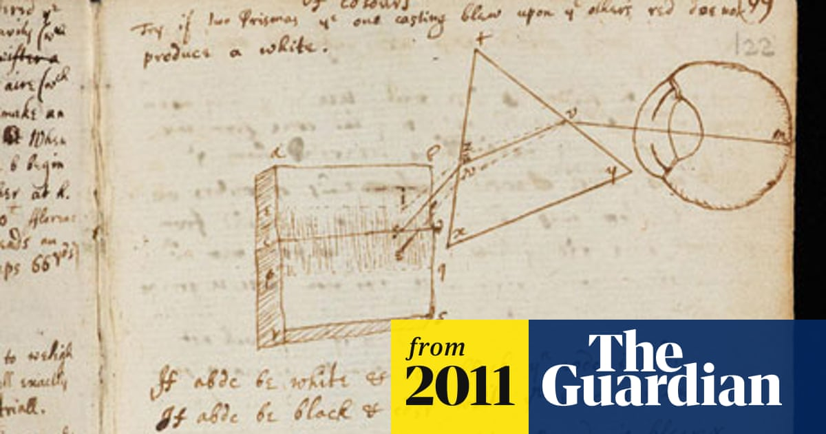Sir Isaac Newton's own annotated Principia Mathematica goes online
