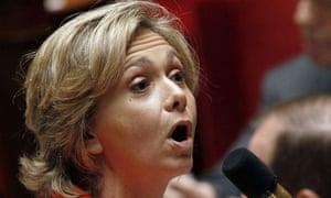 France's budget minister Valerie Pecresse