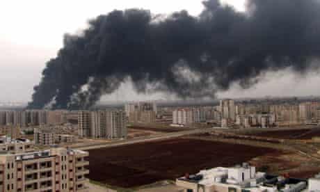 Oil pipeline bombed in Homs, Syria