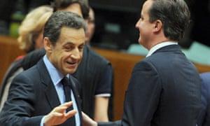 Nicolas Sarkozy, David Cameron