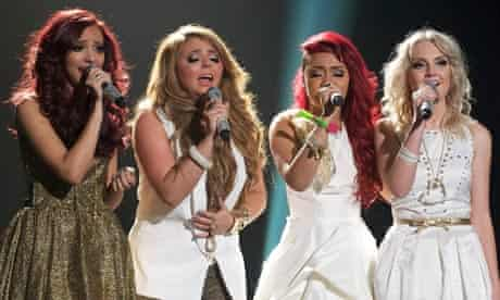 X Factor Champions Little Mix