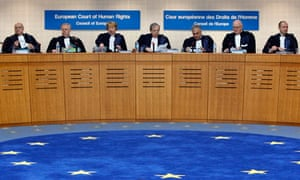 Judges at the European court of human rights