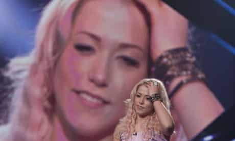 Amelia Lily in The X Factor
