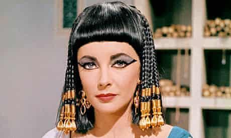 Elizabeth Taylor as Cleopatra in the 1963 film