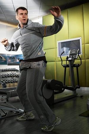 Mikhail Prokhorov: Mikhail Prokhorov in the gym